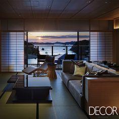 O resort XIV Bettei, localizado na cidade de Toba, Japão, ganhou novas acomodações com projeto de interiores assinado pelo escritório NIKKEN SPACE DESIGN LTD.