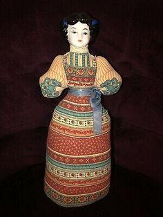 Vintage Avon American Heirloom Doll Pin Cushion Porcelain Head 1981  | eBay Porcelain Dolls For Sale, Barbie I, Head Pins, Vintage Avon, Pin Cushions, Doll Clothes, American, Ebay, Baby Dresses