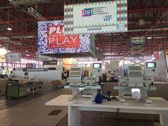 Tajima Booth at CPrint Madrid, in progress till Thursday.