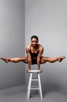 """""""I was built this way for a reason, so I'm going to use it."""" -Simone Biles"""