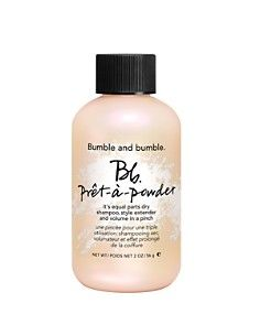 Bumble and bumble Pret-a-Powder: this is an awesome dry shampoo