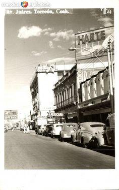 Fotos de Torreón, Coahuila, México: Avenida Juárez