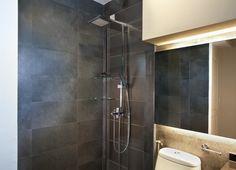 HDB toilet grey slate.