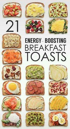 I'm kind of proud that I eat a few of these already. More options for energy boosting breakfast toast options can only be good!