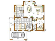 Innovation R (R140_1_V33) Grundriss Erdgeschoss