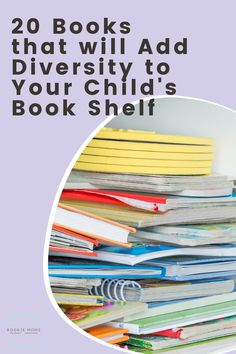 This list includes 20 books that celebrate diversity and will help you open the door for important conversations in your family. Potty Training Tips, Autism Resources, Chapter Books, Business For Kids, Used Books, Love Book, Parenting Advice, Diversity, Big Kids