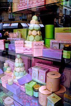 LADUREE~ Paris. Angelique de Paris Rose Frou Frou