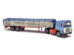 Scania 141 with Canvas Load (R T Keedwell) Diecast Model Lorry by Corgi CC15303 This Scania 141 with Canvas Load (R T Keedwell) Diecast Model Lorry is Blue and features working wheels. It is made by Corgi and is 1:50 scale (approx. 30cm / 11.8in long).    R.T. Keedwell Ltd was founded in 1969 by Ray Keedwell with one truck hauling peat from the Somerset Levels.  The fleet has steadily grown since that time to its present size of around 400 trucks, and 1000 trailers with Depots all over the…