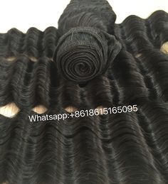 Deep body wave  Luxury Virgin hair,supply salons and hair shops.  More than 13 different style in stock ,also matched closure, frontal, silk base,and wigs.  Overnight shipping! only supply the best virgin hair.  more real pics and short video from customers follow:  Instagram: derun_hair_factory   What's app:+8618615165095  Text:+19122083113