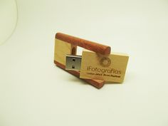 Pendrive Wood Class - By Ifotografias