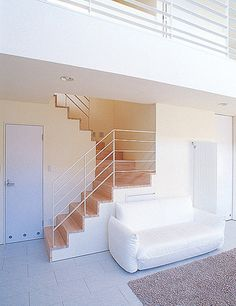 シンプルモダンな白い家|建築実例|札幌と帯広の新築、注文住宅の家|北王