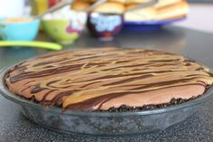 Banana Peanut Butter Chocolate Pie