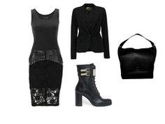 beautiful black dress by killershower