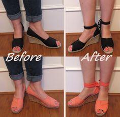 Shoe Redo - Before & After | por nosmallfeet