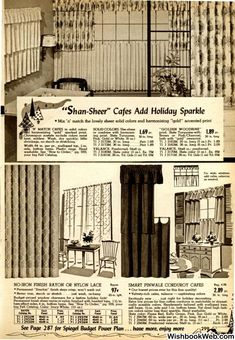 1955 Spiegel Christmas Catalogue 1950s Furniture, Christmas Catalogs, It Is Finished, 50s Furniture