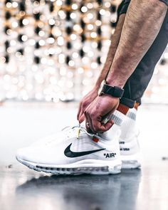 "e8e12d4e14d2  everysize on Instagram  ""Still the best Nike Air Max 97! 📷   kaczy    nike   offwhite  sneakers"""