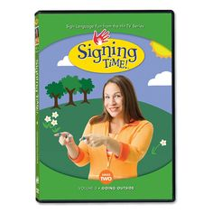 Concepts Taught: •	Weather/Nature •	Places •	Movement •	Body Awareness •	Reading  Signs Taught: •	Outside •	Sun •	Flowers •	Grass •	Bug •	Today •	Wind •	Trees •	Leaves •	Sky •	Clouds •	Rain •	Thunder •	Snow •	Outside •	Sun •	Flowers •	Grass •	Bug •	Today •	Wind •	Trees  http://www.signingtime.com/series-two-volume-5-going-outside