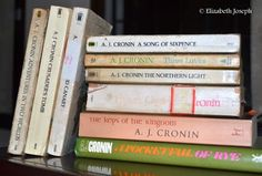 My Book Collection of my favorite author A J Cronin