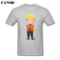 >> Click to Buy << New Designing T-shirts Man Custom Cotton Short Sleeve Naruto Janpan Anime Family Clothing Men T Shirt #Affiliate