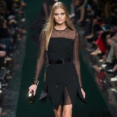 The Dark Romance of Elie Saab Fall/Winter 2014/2015 @ Paris Fashion Week | Ellie Saab