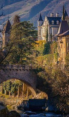ITALY -- Old Castle in Merano #by Alexander Ko -- 500px.com