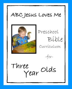 Free bible lesson plans and activities to teach throughout the year. For ages 2-5 years old.