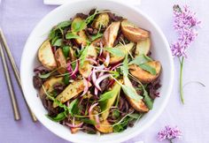 Pulled beef with roasted potatoe salad - Nyhtöpaisti, resepti – Ruoka.fi
