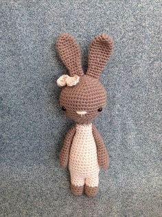Meet Frances, the little bunny girl from www.manuska.com