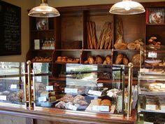 Inside Bouchon Bakery.