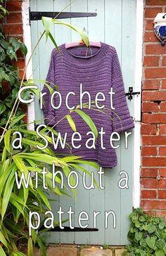 d45be8ef2 Crochet Sweater Crib Sheet