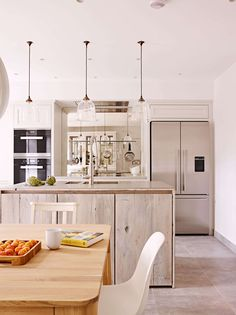An award winning kitchen by Holloways of Ludlow combining industrial elements with a more classic style.