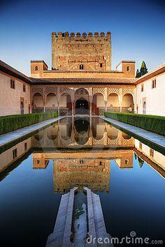 Granada, Spain. La Alhambra