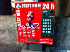 Automaten-Kultur: Erste Hilfe-Automat München