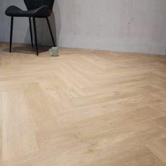 Floer Visgraat PVC Vloer Onbehandeld Eiken - Visgraat Vloeren V-Groef