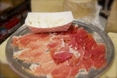Alleva Dairy is the oldest Italian cheese shop in America. Their mozzarella pairs perfectly with a bit of prosciutto. Join us for a tasting on our tour of Little Italy! http://www.ahoynewyorkfoodtours.com/tours/