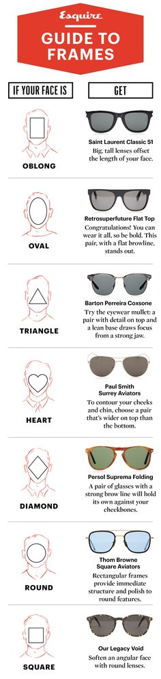 How to Pick the Best Sunglasses for Your Face