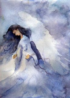 Watercolor Paintings by jdmstudios: Angels Among Us