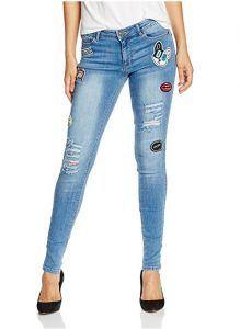 Jeans con parches Image