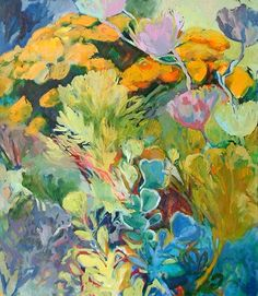Oil on canvas, x Jenny Parsons Flower Paintings, Oil Paintings, Landscape Paintings, Art Flowers, Flower Art, South African Artists, Colorful Artwork, Art Styles, Inspiring Art