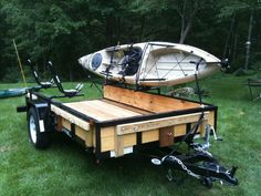 Landscaper Ottawa For Popular Landscaping Kayak Camping, Canoe And Kayak, Kayak Fishing, Outdoor Camping, Camping Hammock, Fishing Boats, Outdoor Gear, Atv Trailers, Best Trailers