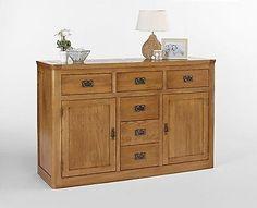 http://bask.yt/?b9JFo Knightsbridge High Quality Large Oak Sideboard Cupboard Storage Unit £641.00
