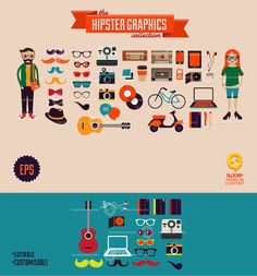 the Hipster Graphics collection by SloorpWorld.deviantart.com on @deviantART