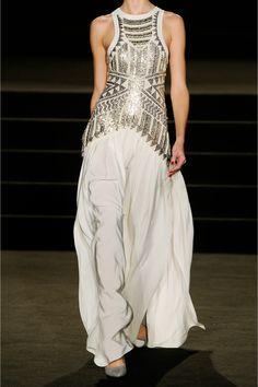 Sass & bide|Neon City embellished mesh and silk gown|NET-A-PORTER.COM