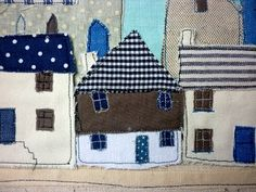 textile cottages by Kirsty Elson Designs