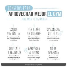 Consejos gym_web