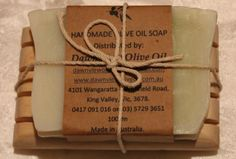 Castile Olive Oil soap with soap dish; ready for a great gift. ONLINE SHOP NOW OPEN - dawnviewoliveoil.bigcartel.com - Payment options PayPal & Credit card.  Email: dawnviewoliveoil@hotmail.com... with any enquires. $ 12.00 for soap dish and soap - you can pick the type of soap you want.