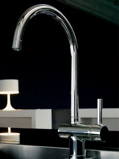 PAN 1 hole kitchen mixer tap by ZUCCHETTI design Ludovica Roberto ...