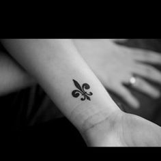 If I ever got a tattoo, it would be Le Fluer de Lis on my ankle.