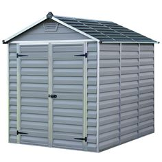 6x8 Palram Grey Skylight Shed