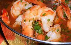 Katia au pays des merveilles: Crevettes yucatèques